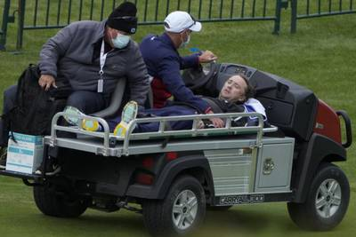 'Harry Potter' actor Tom Felton collapses during Ryder Cup exhibition