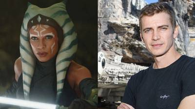 Rosario Dawson pens sweet message to Hayden Christensen at news he'll be joining her in 'Ahsoka'