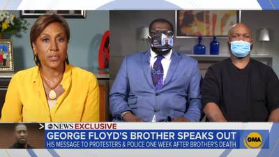 The Brother Of George Floyd Calls For Peace